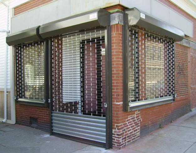 Commercial storefront gates nyc rolling gate